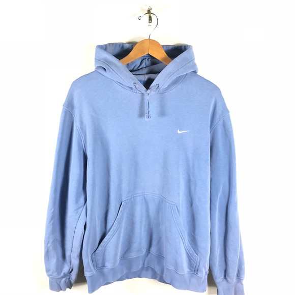 f844a7659eda7 NIKE AIR SWOOSH HOODIE PULLOVER BABY BLUE